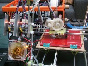 RepRap printer based on FDM
